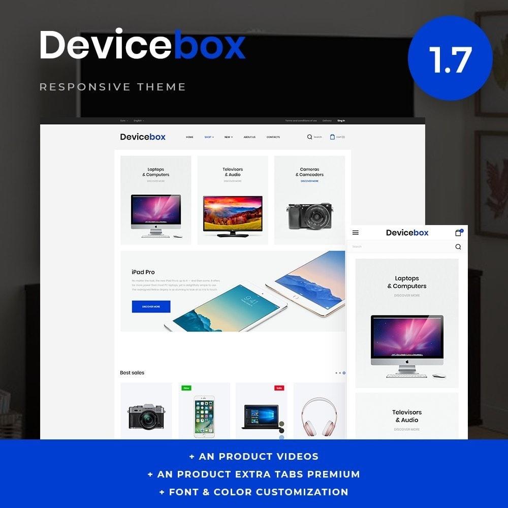 theme - Electronics & Computers - Devicebox - High-tech Shop - 1