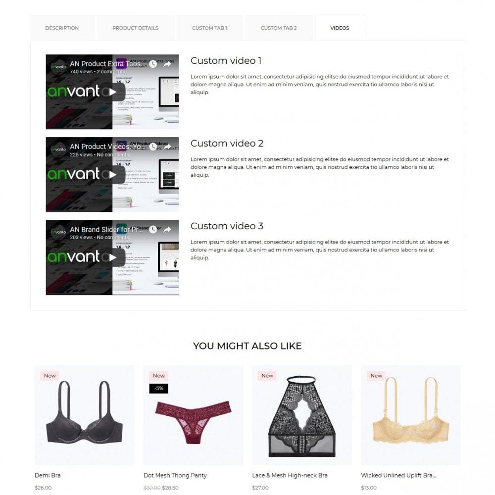 theme - Lingerie & Erwachsene - Lisette Lingerie Shop - 11