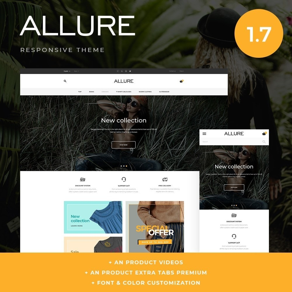 theme - Fashion & Shoes - Allure Fashion Store - 1