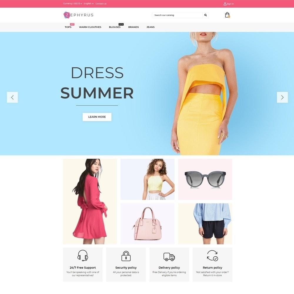 theme - Fashion & Shoes - Zephyrus Fashion Store - 2