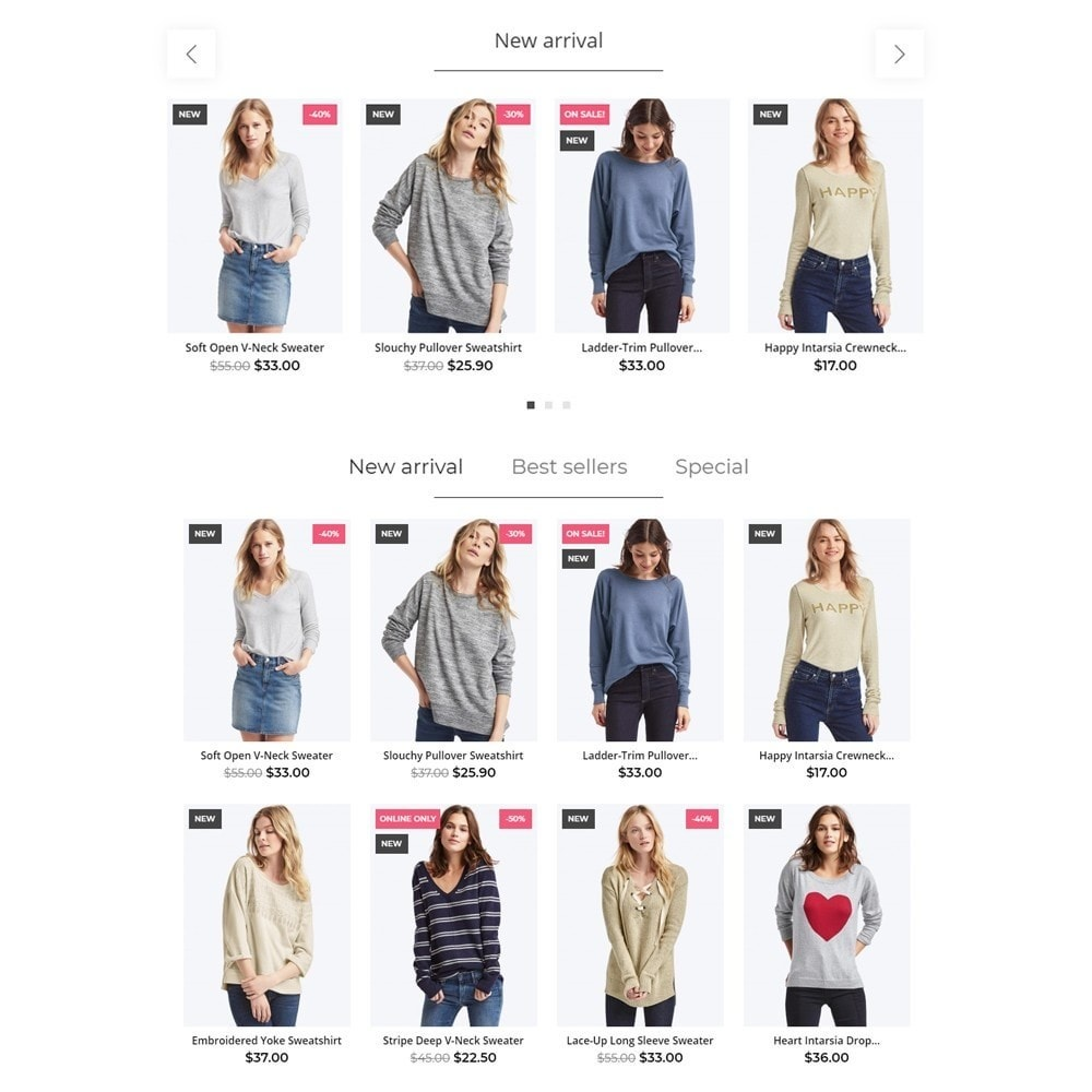 theme - Mode & Chaussures - Zephyrus Fashion Store - 3