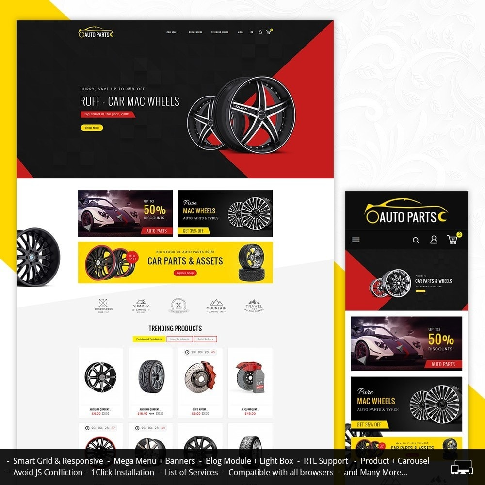 theme - Carros & Motos - Auto Garage - 1