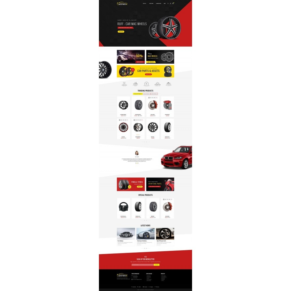theme - Carros & Motos - Auto Garage - 2