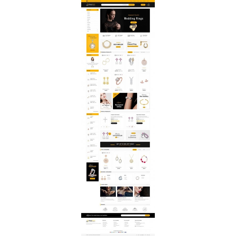 theme - Sieraden & Accessoires - Mega Mart Jewelry Imitation - 2