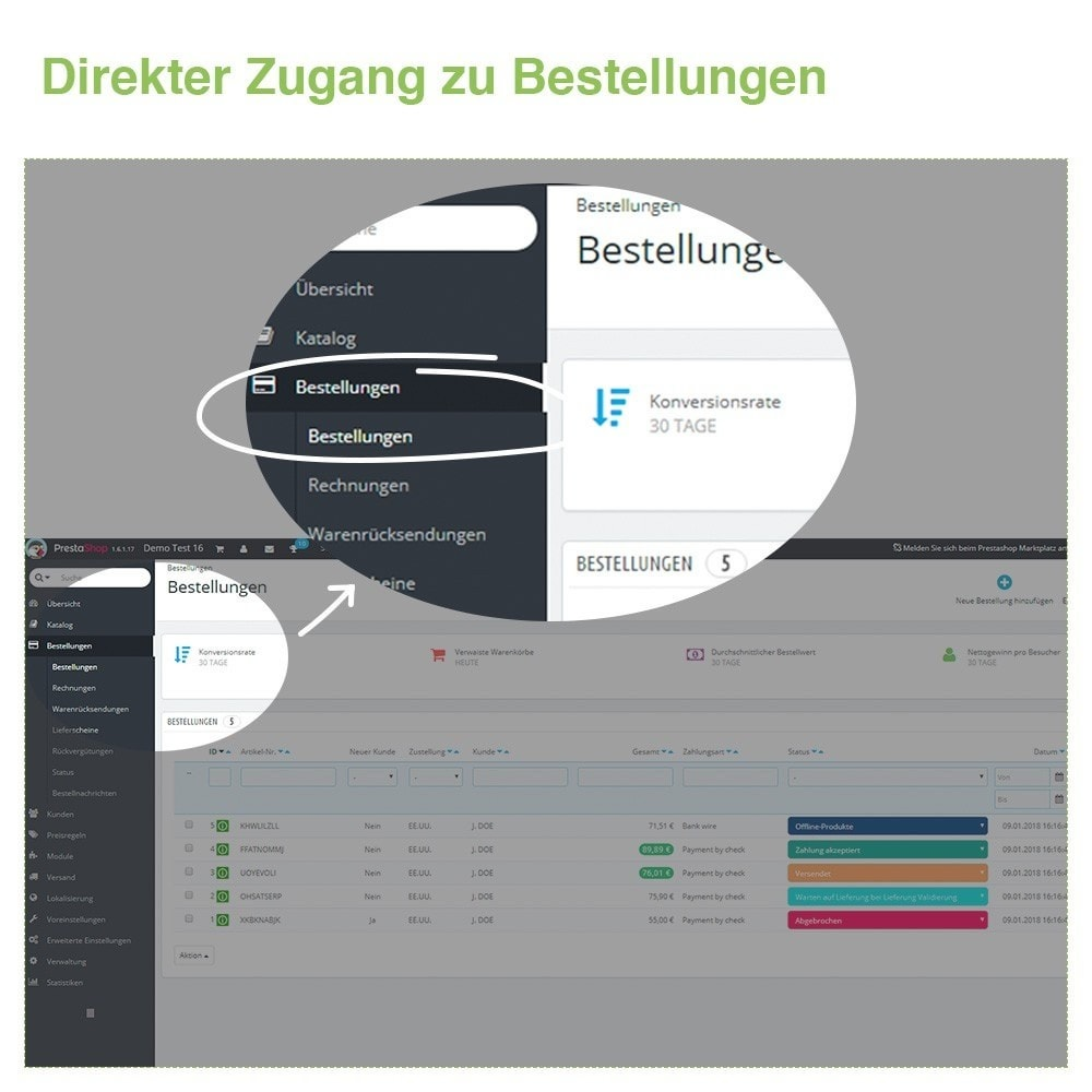 bundle - Auftragsabwicklung - Pack Manage orders and products quickly - 2