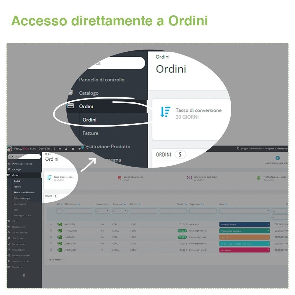 bundle - Gestione Ordini - Display Pack - Increase your Visibility - 3 Modules - 2