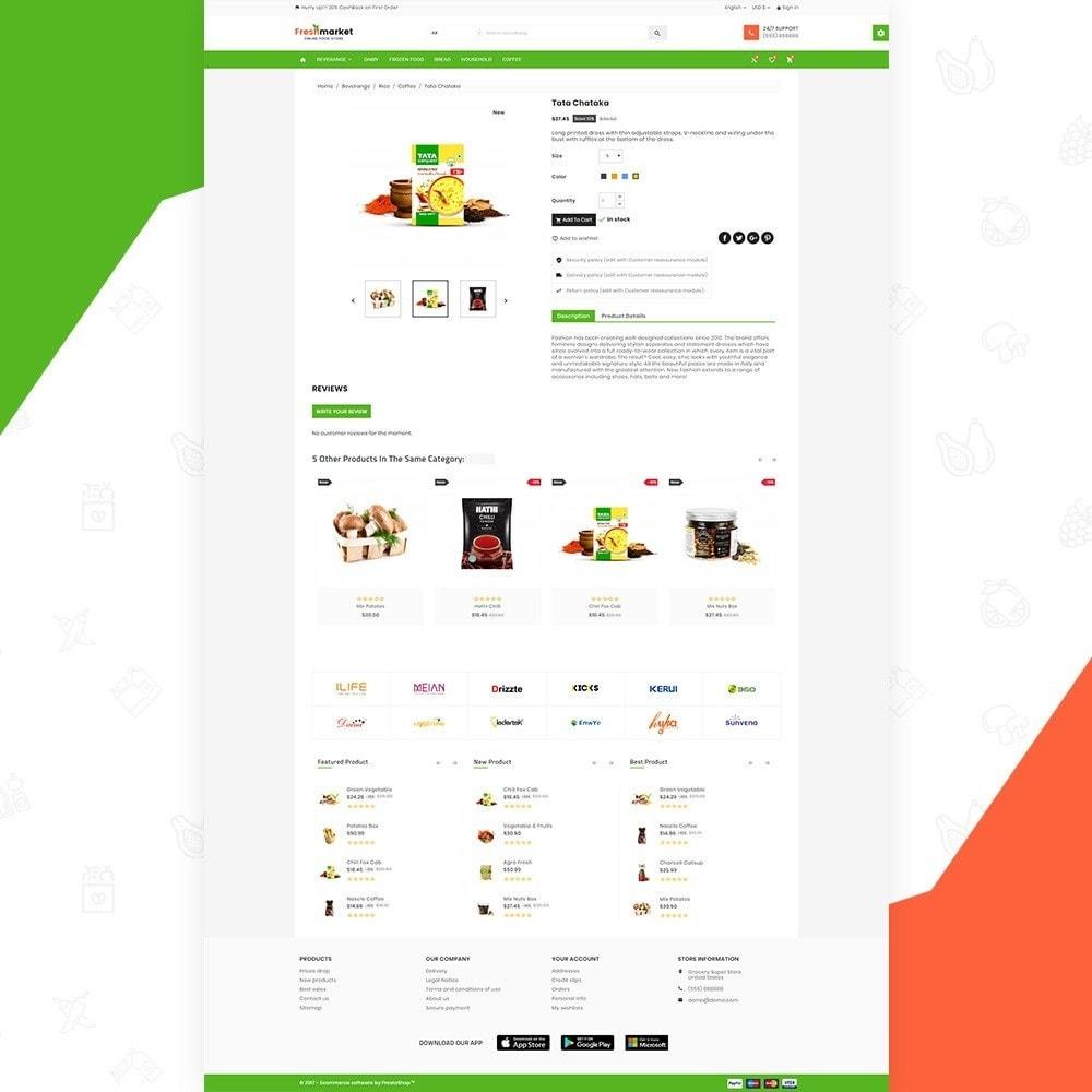 theme - Gastronomía y Restauración - Fresh Market – Food Super Store v3 - 4