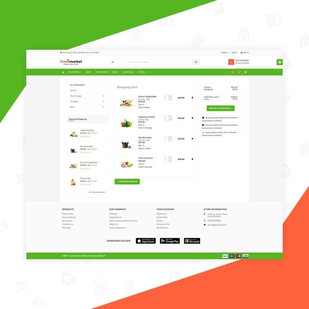 theme - Gastronomía y Restauración - Fresh Market – Food Super Store v3 - 5