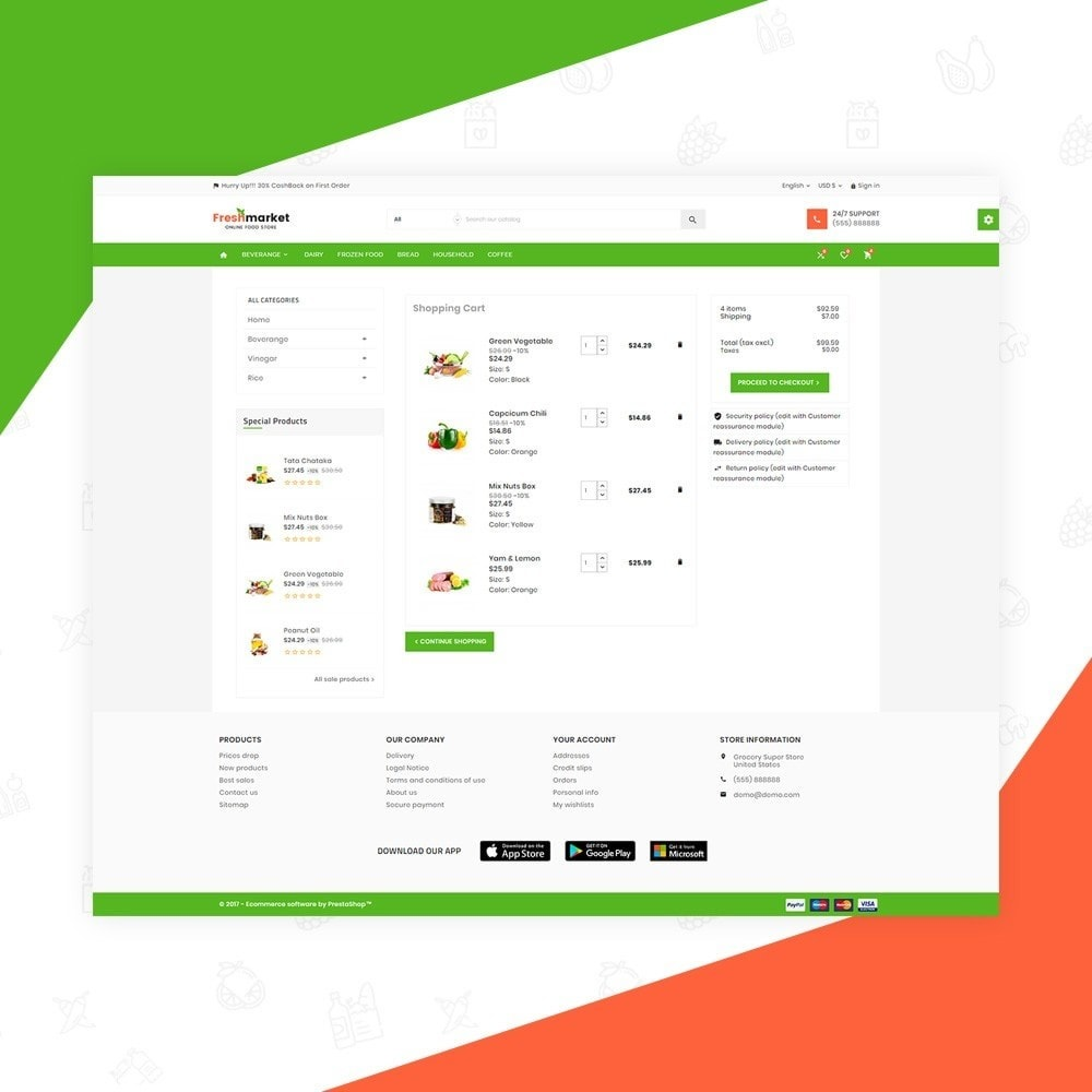 theme - Alimentos & Restaurantes - Fresh Market – Food Super Store v3 - 5
