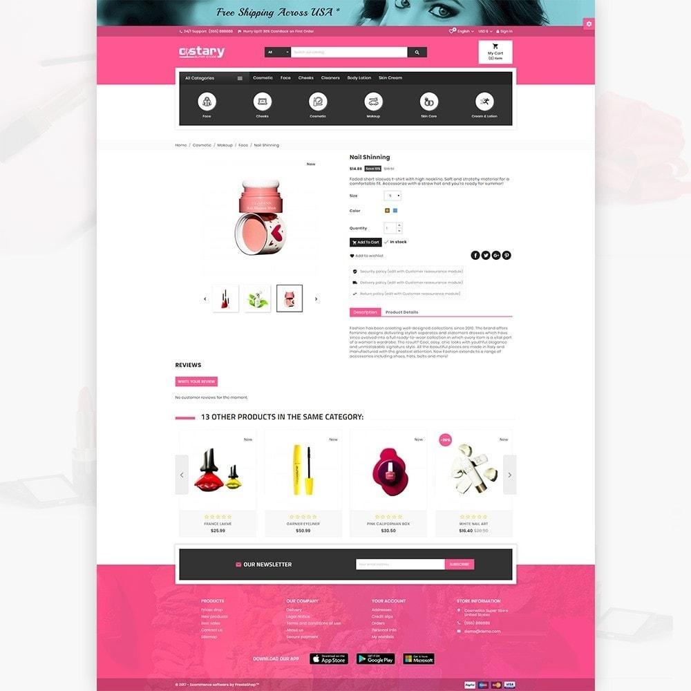 theme - Saúde & Beleza - Costary Cosmetics Beauty Super Store - 5