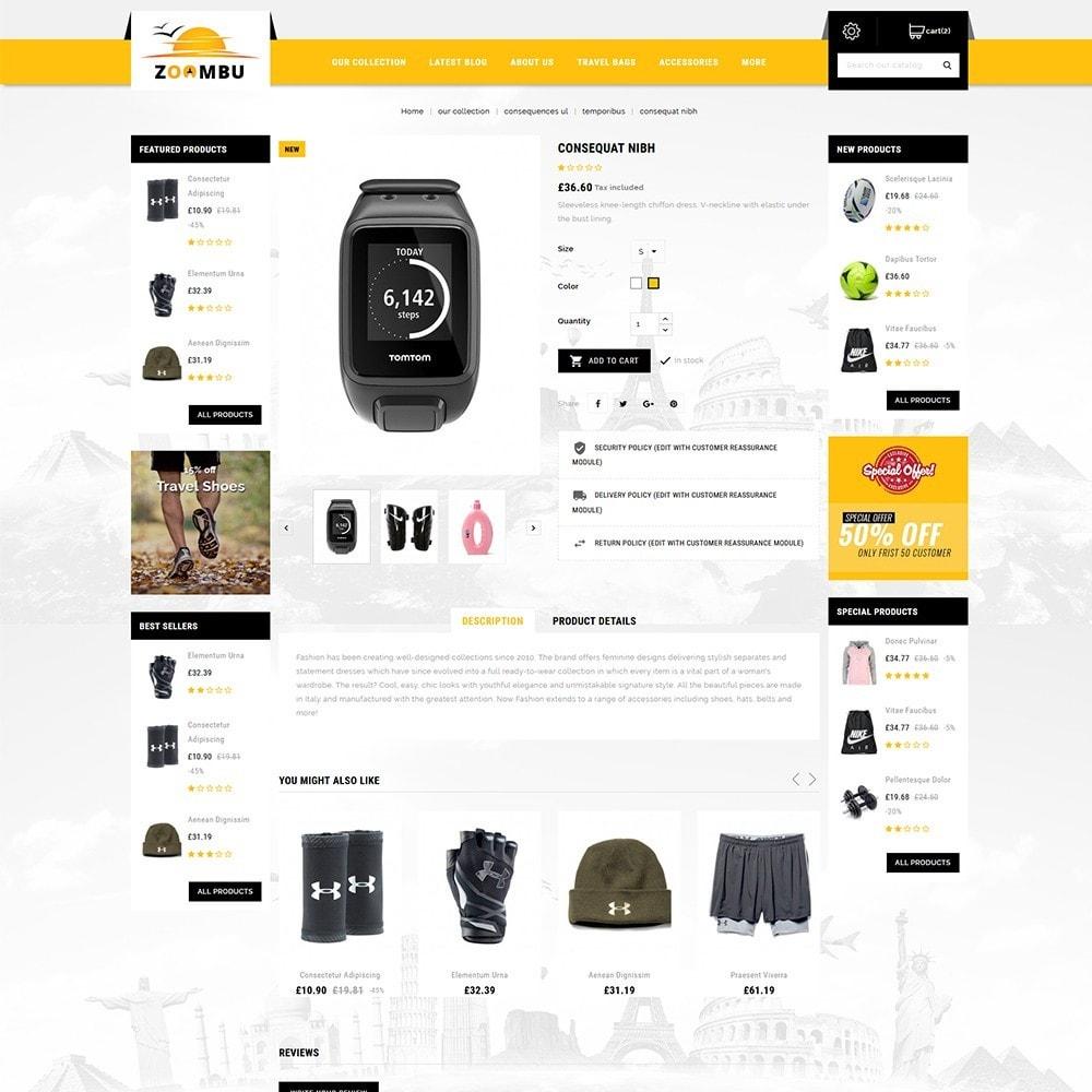 theme - Sport, Activiteiten & Reizen - Zoombu Travel Store - 5
