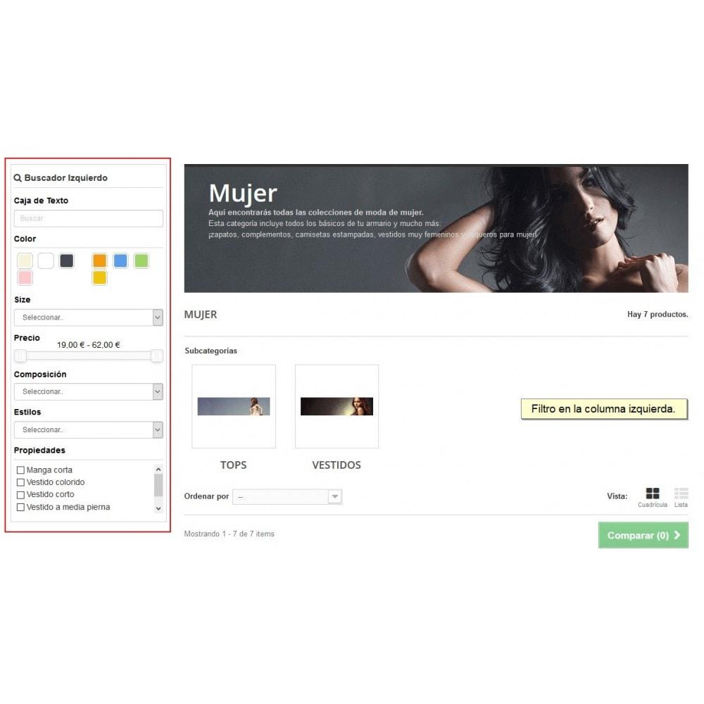 module - Búsquedas y Filtros - Filter Products Pro - Buscador avanzado de productos - 4