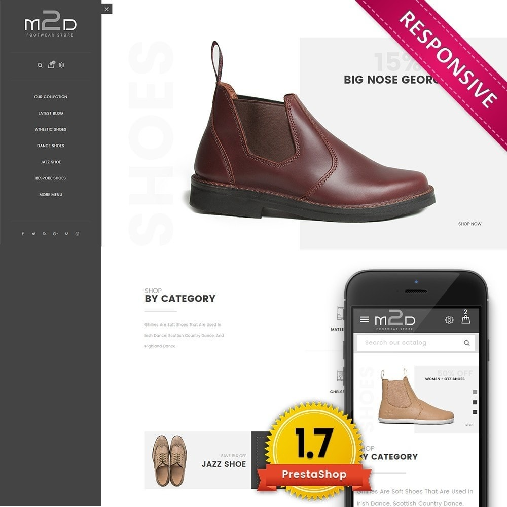 theme - Moda & Calzature - M2D Footwear - 1