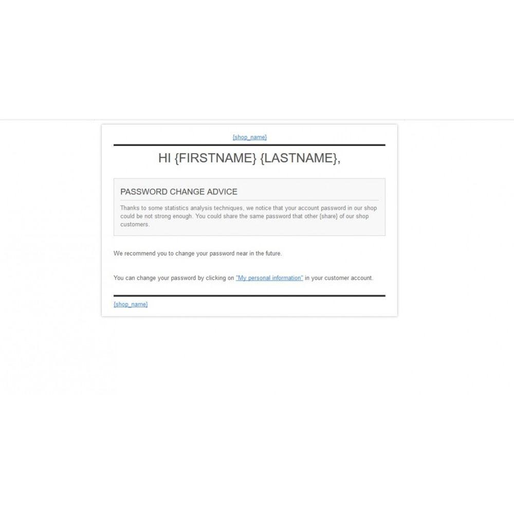 module - Sicherheit & Brechtigungen - Password Strength Checker - 6