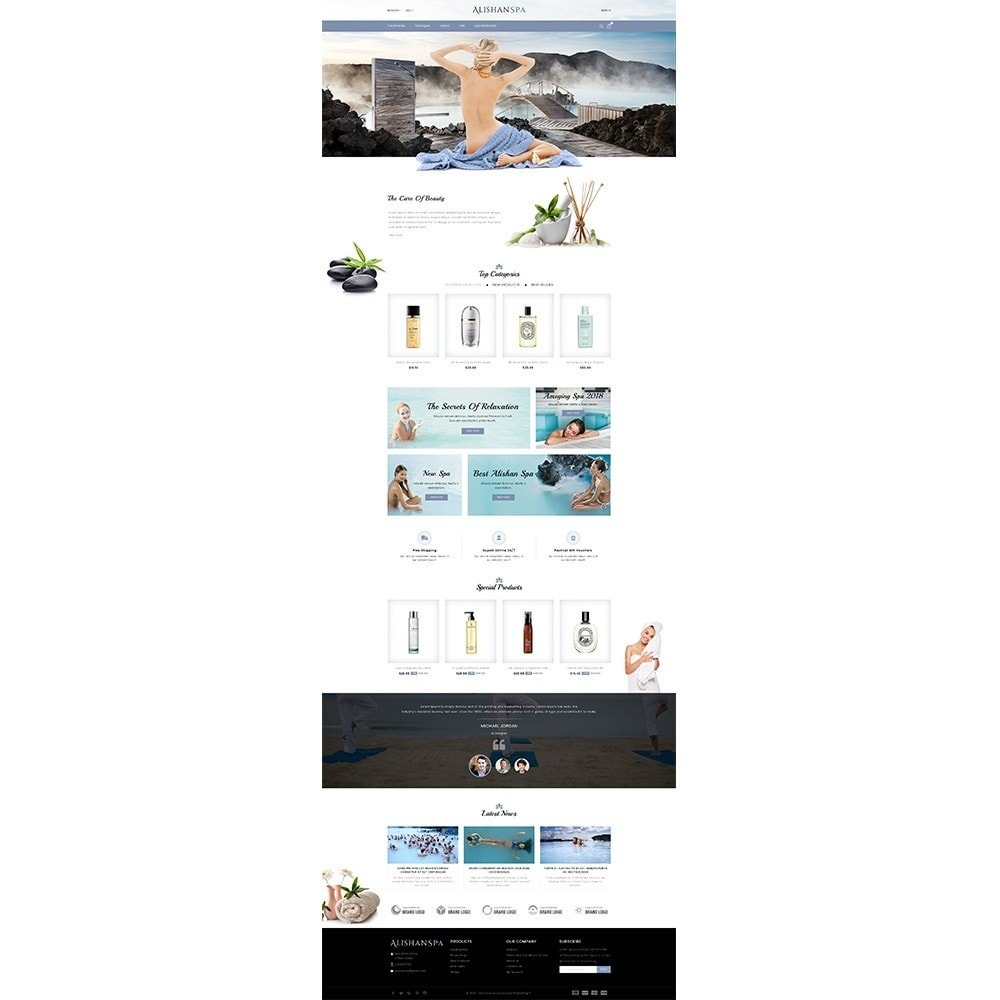theme - Health & Beauty - Alishan Spa Store - 2