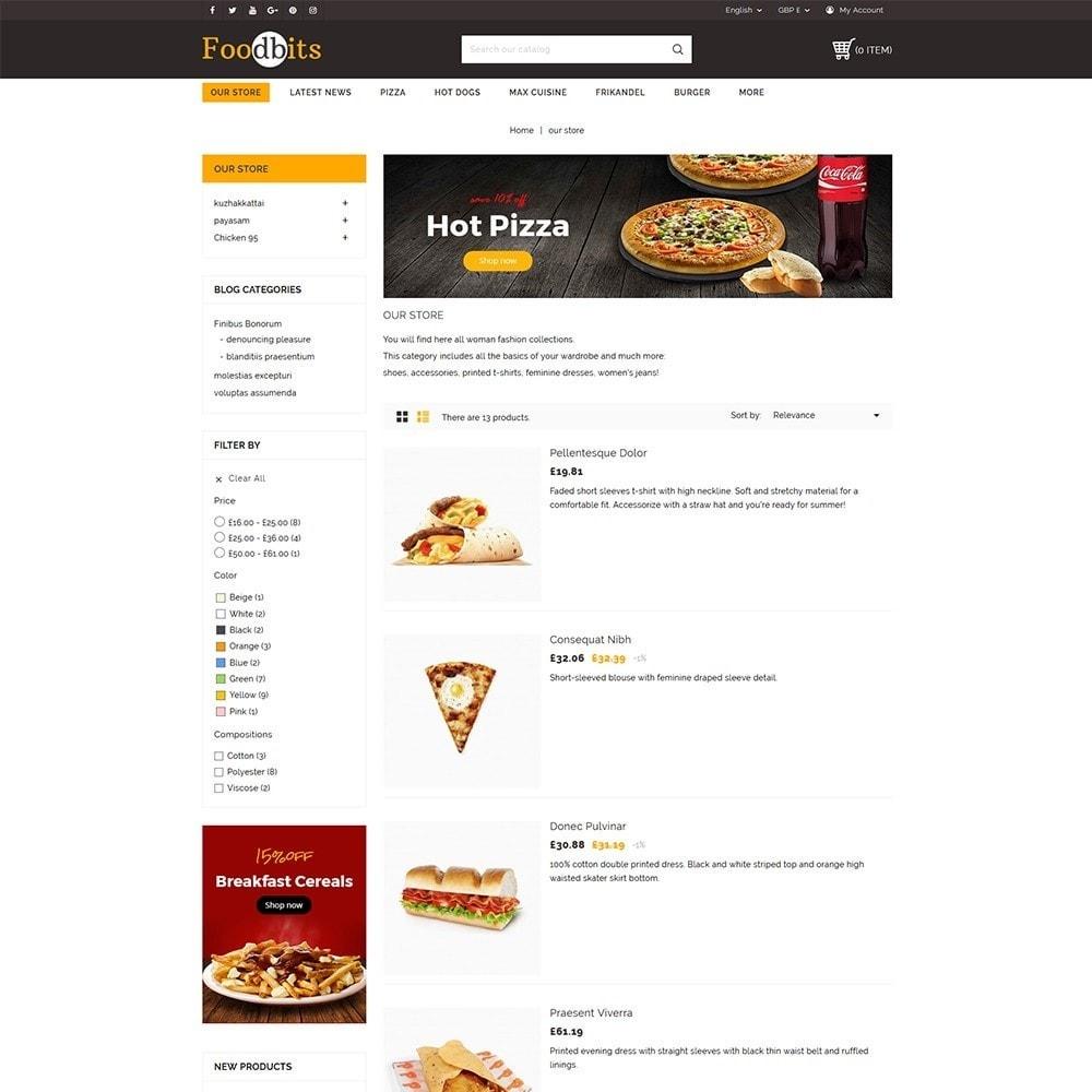 theme - Alimentation & Restauration - Foodbits Restaurant - 5