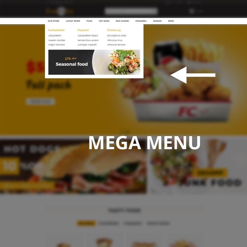 theme - Alimentation & Restauration - Foodbits Restaurant - 9