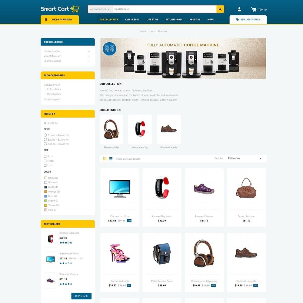theme - Mode & Chaussures - Smartcart Mega Store - 4
