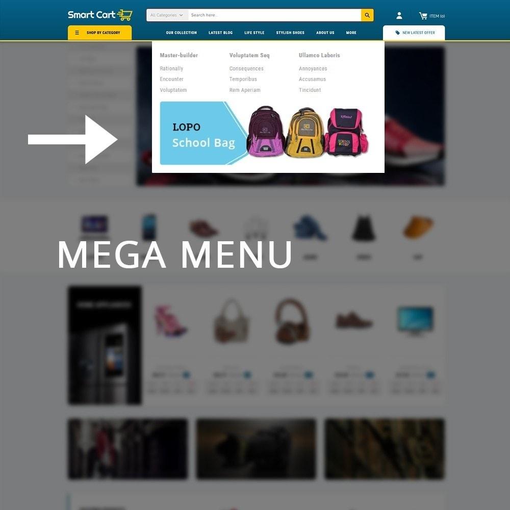 theme - Moda & Calzature - Smartcart Mega Store - 9