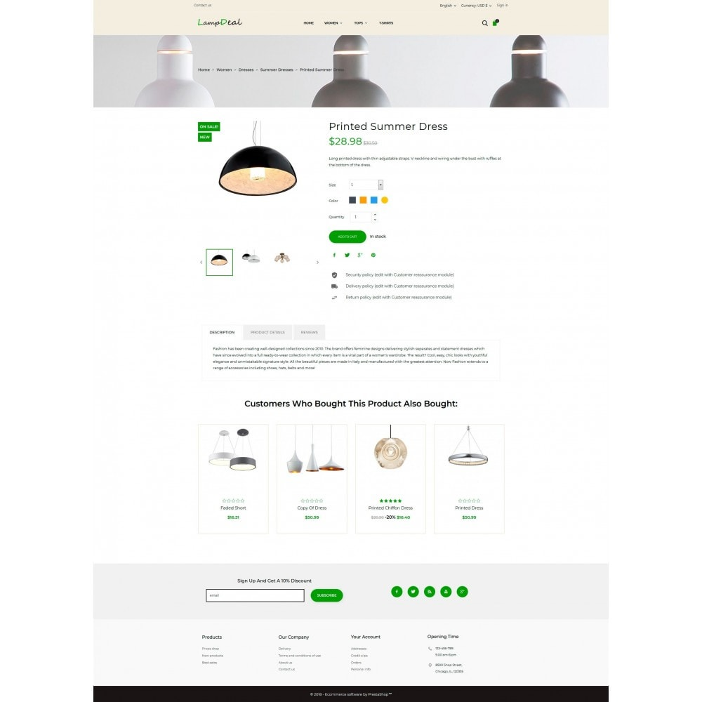 theme - Дом и сад - LampDeal - 5