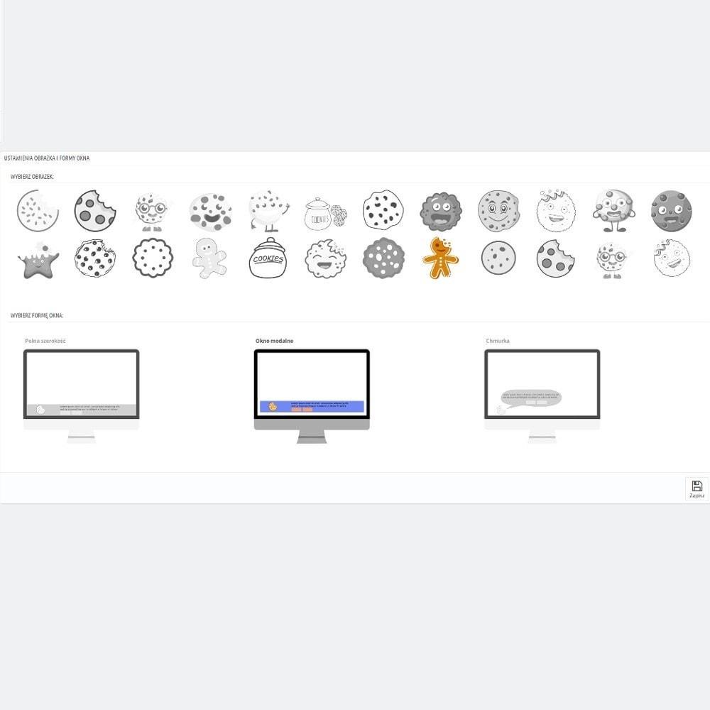 module - Wzmianki prawne - Nowoczesna informacja o zastosowaniu plików Cookies - 5
