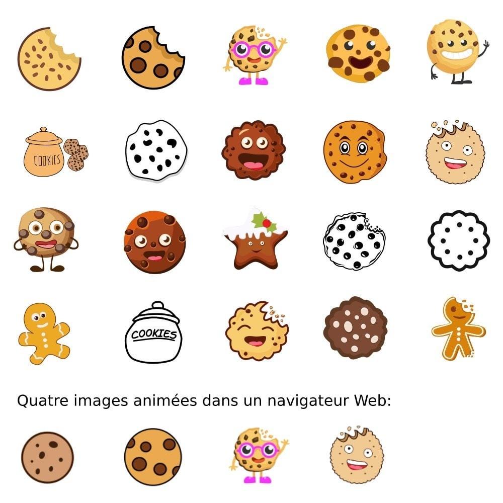 module - Législation - Bandeau d'Informations Cookies - Moderne et amusant - 6