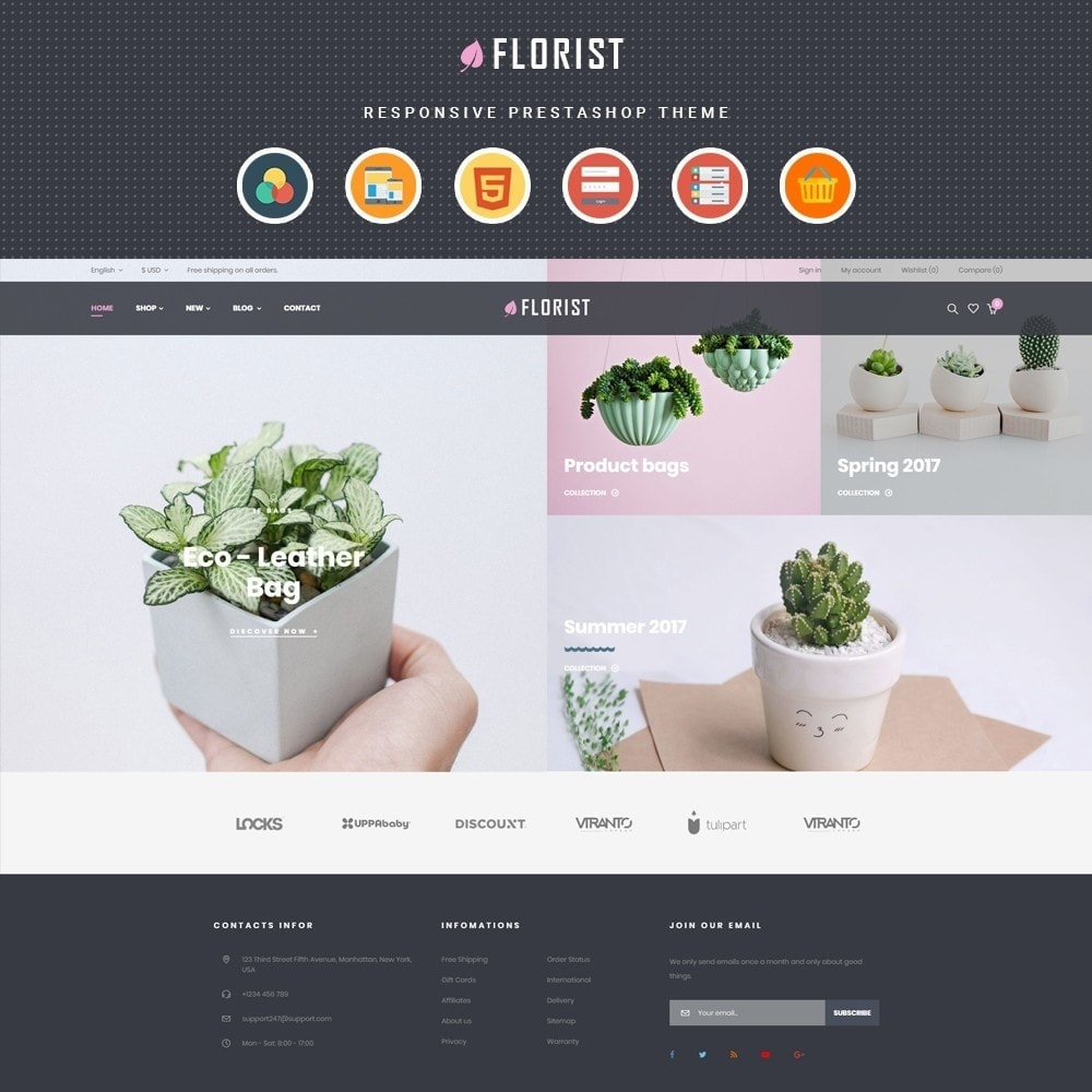 theme - Подарки, Цветы и праздничные товары - Leo Florist - 1