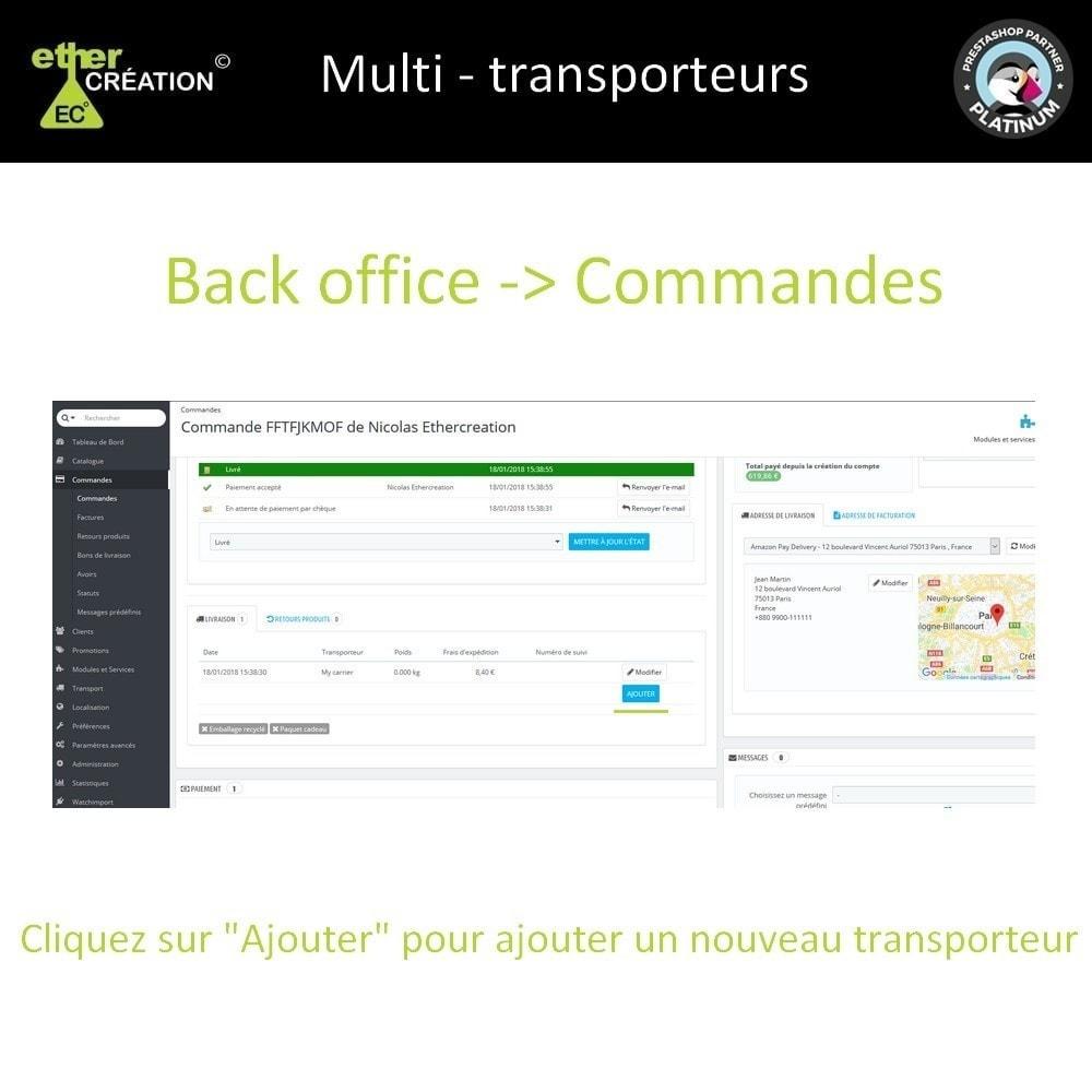 module - Transporteurs - Multi transporteur & Multi suivi - 1