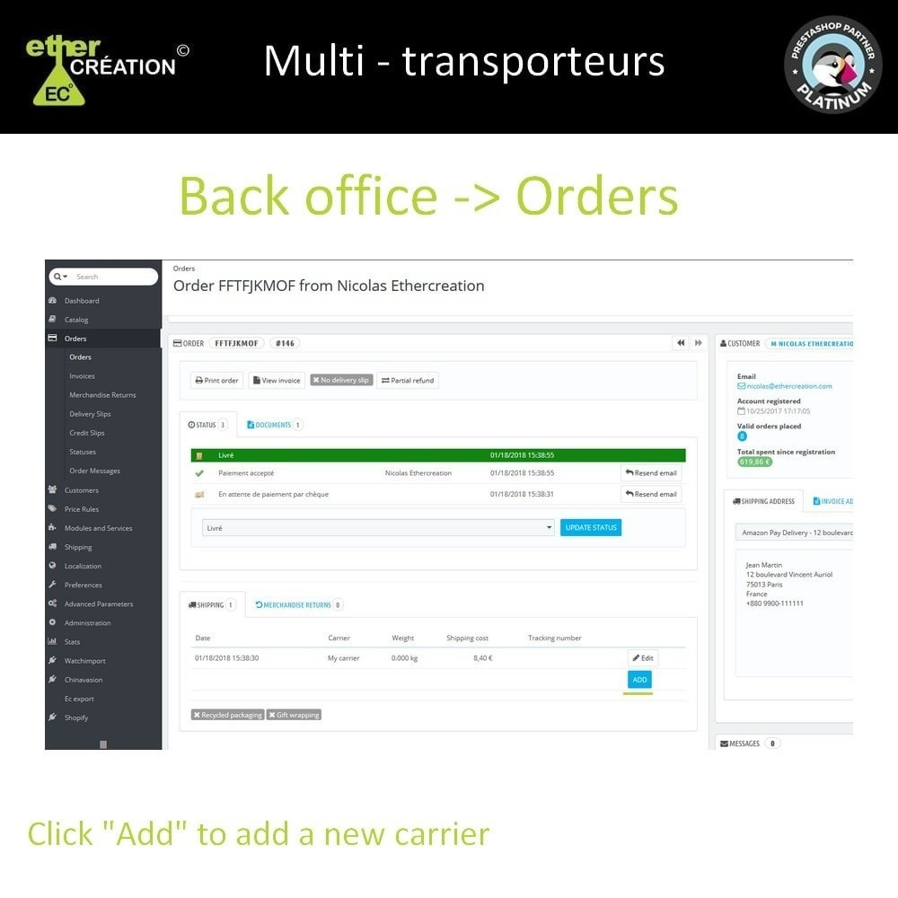 module - Transportadoras - Multi carrier & Multi tracking - 1