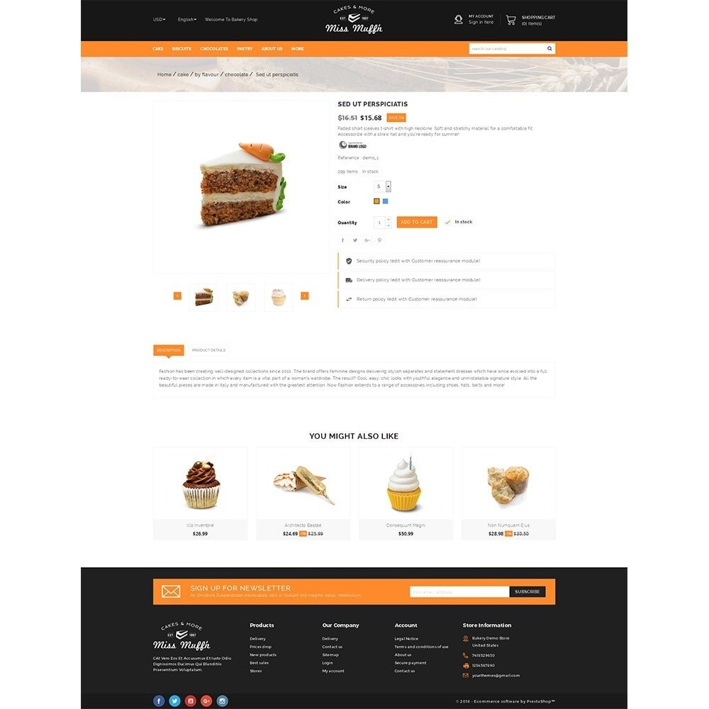 theme - Alimentation & Restauration - Bakery Store - 5