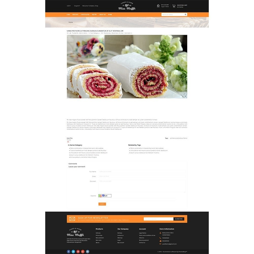 theme - Żywność & Restauracje - Bakery Store - 6