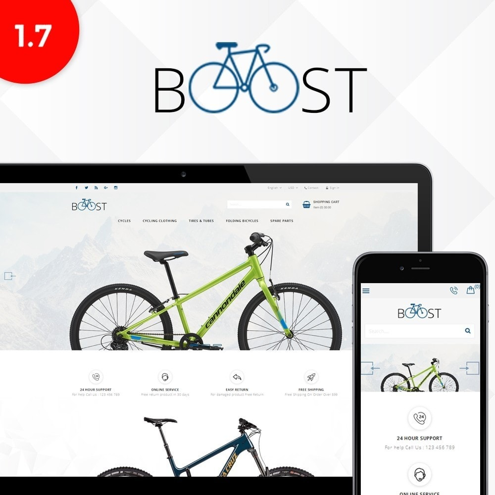 theme - Sport, Loisirs & Voyage - Boost store - 1