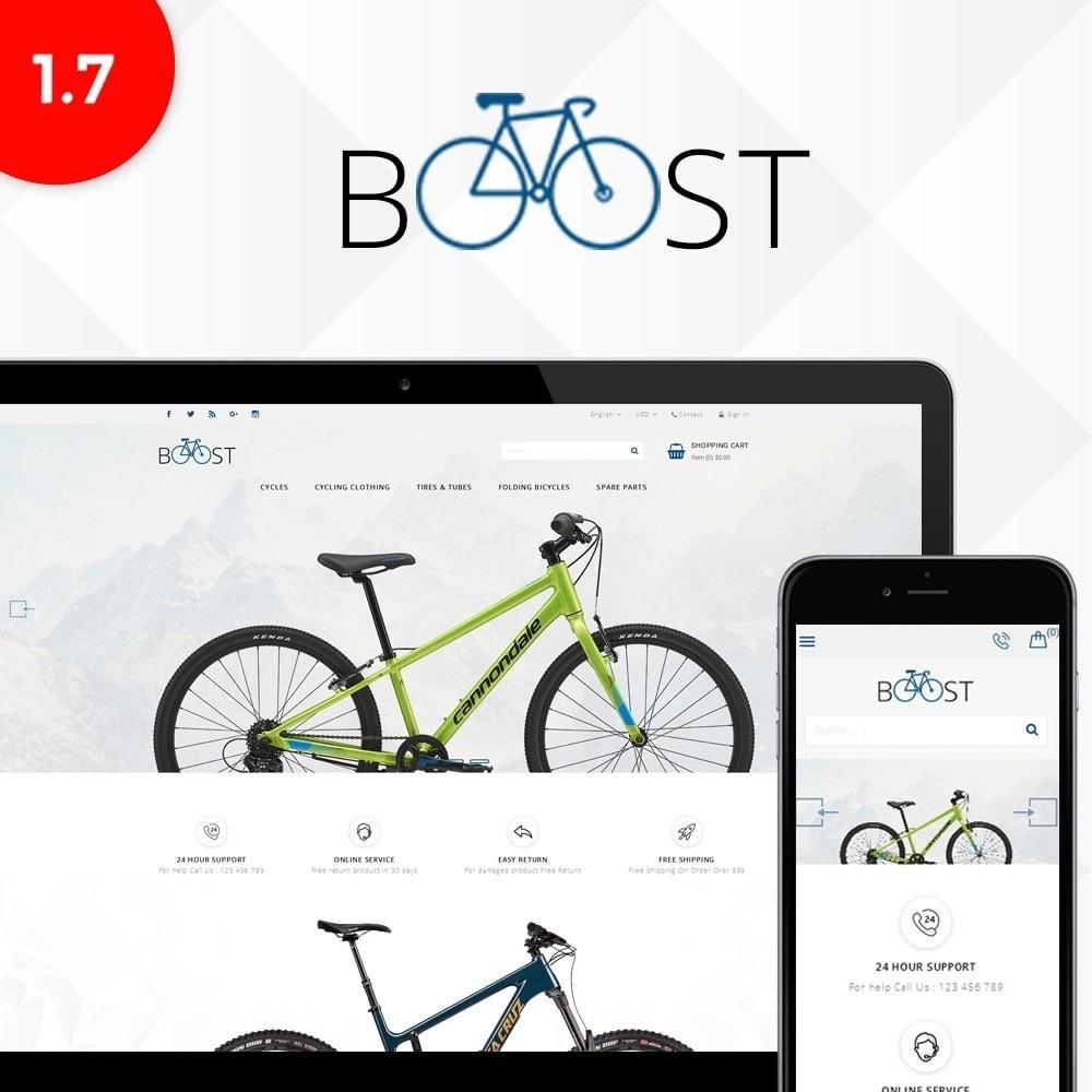 theme - Sport, Rozrywka & Podróże - Boost store - 1