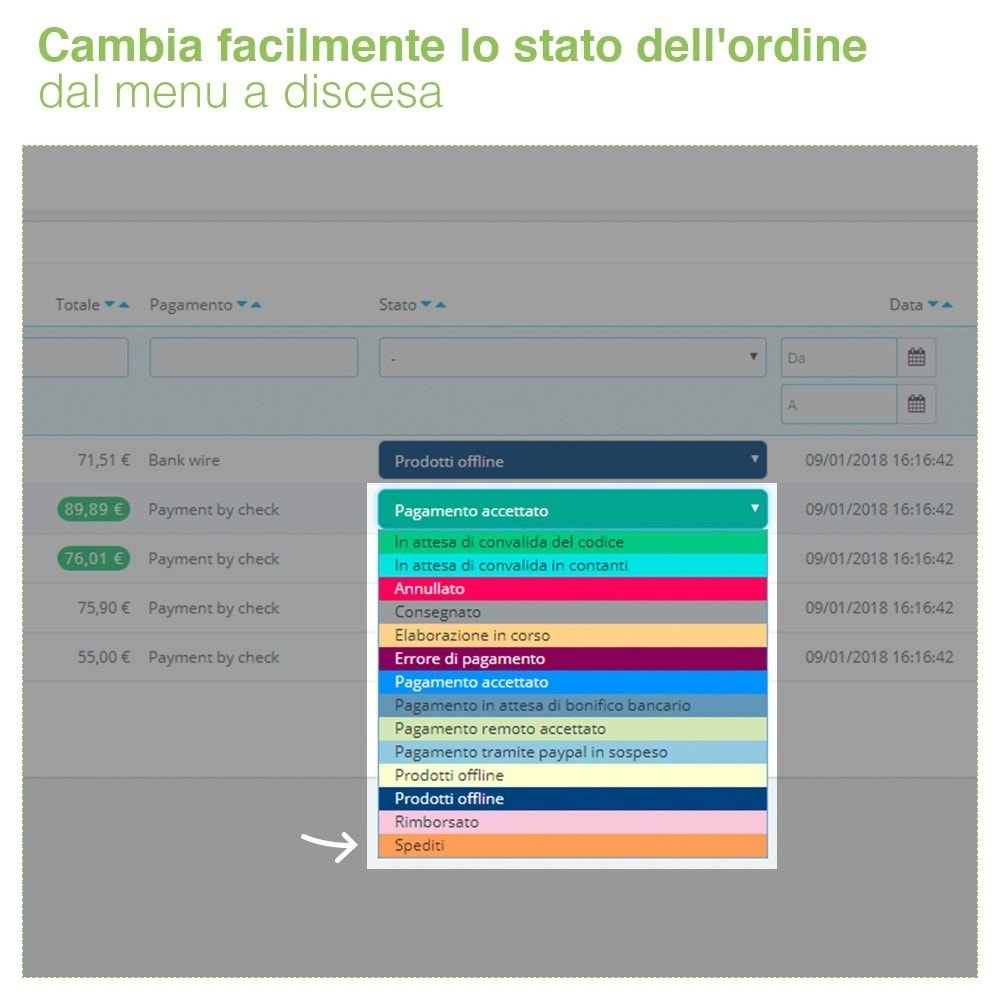 bundle - Gestione Ordini - Display Pack - Increase your Visibility - 3 Modules - 4