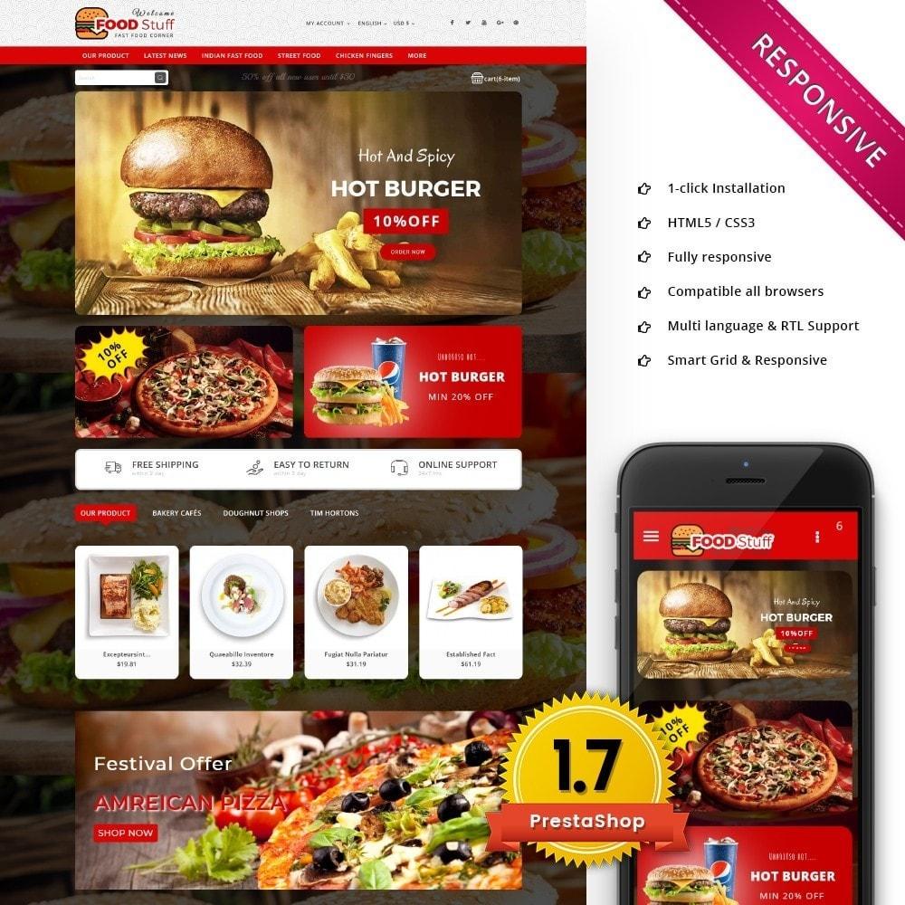 theme - Gastronomía y Restauración - Foodstuff Restaurant - 1