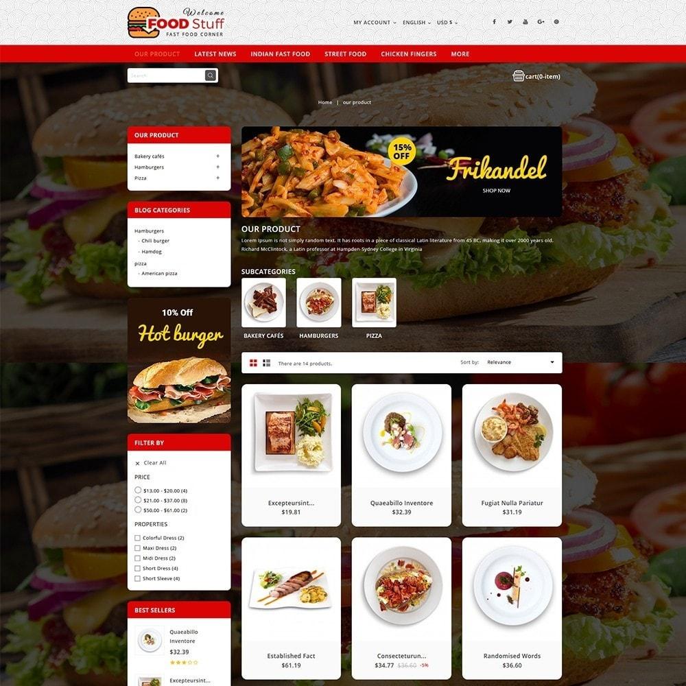 theme - Gastronomía y Restauración - Foodstuff Restaurant - 4