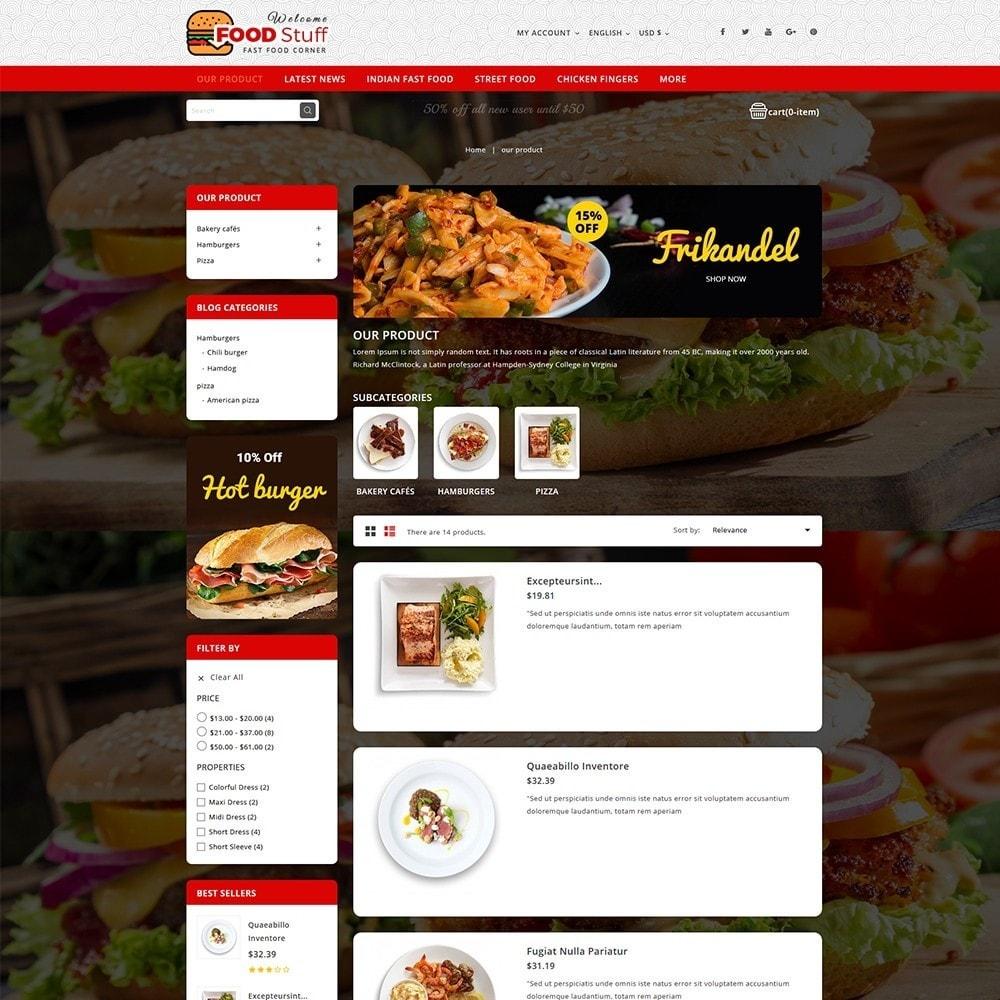 theme - Gastronomía y Restauración - Foodstuff Restaurant - 5