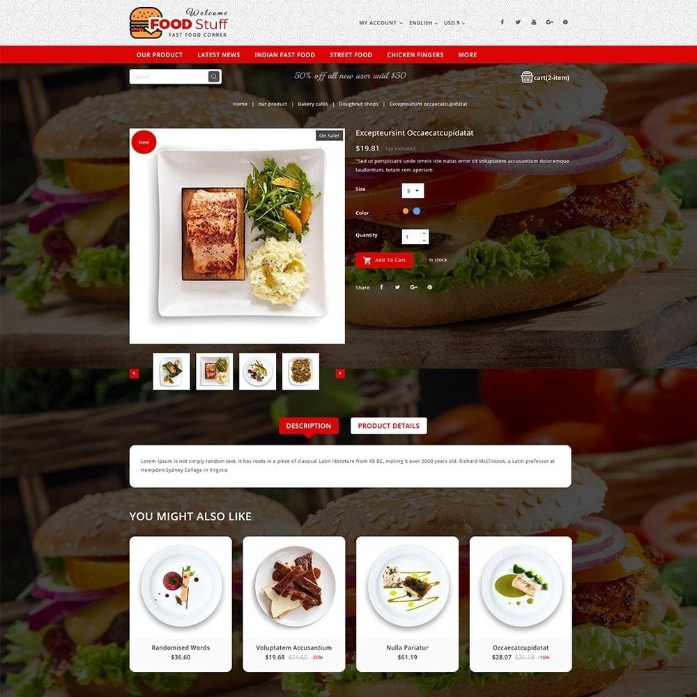 theme - Gastronomía y Restauración - Foodstuff Restaurant - 6