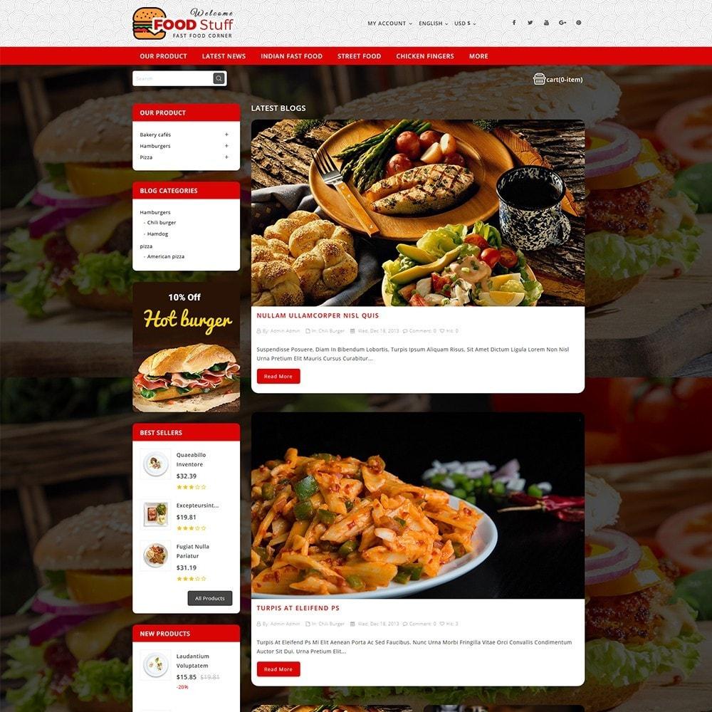 theme - Cibo & Ristorazione - Foodstuff Restaurant - 7