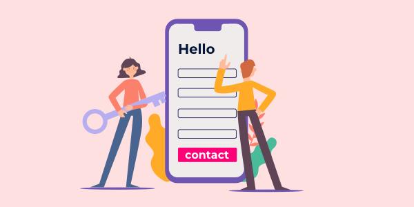 Form di contatto & Questionari
