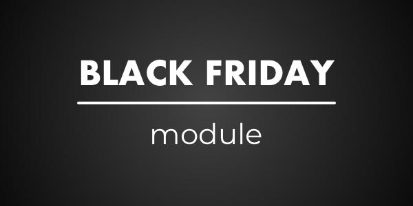 Modulo modalità Black Friday