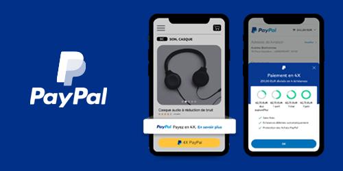 Paiement en 4X PayPal