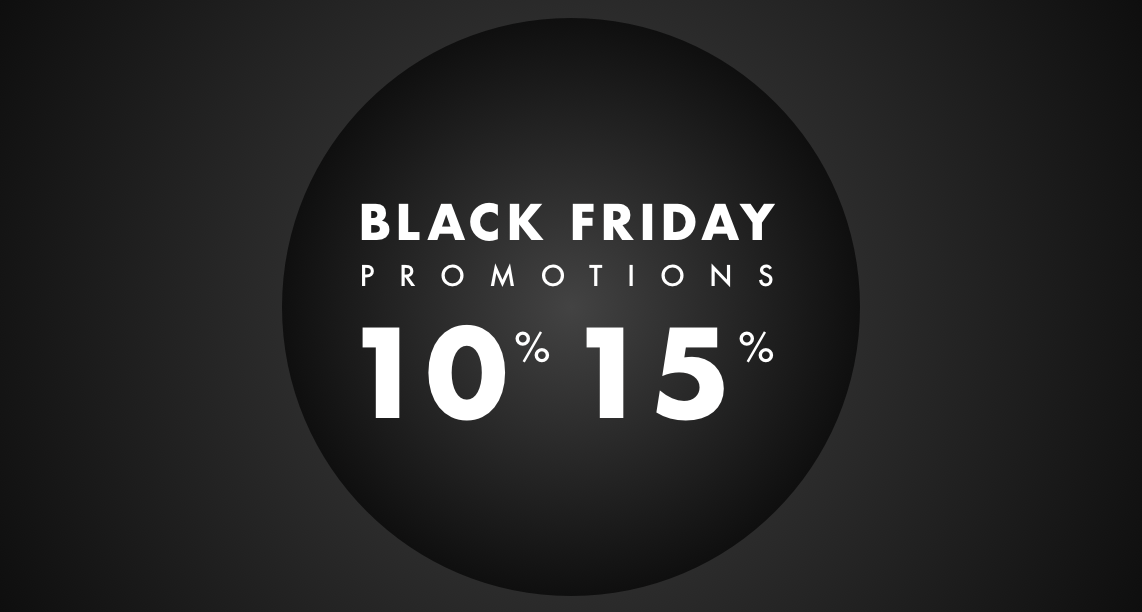 Black Friday 2019: Discover our offers!